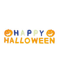 """Happy Halloween"" Gel Stickers"