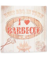 'I Love BBQ' Napkins