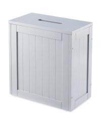 Slimline Bathroom Storage Unit - Grey