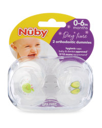 Avocado Soothers 2 Pack 0-6 Months