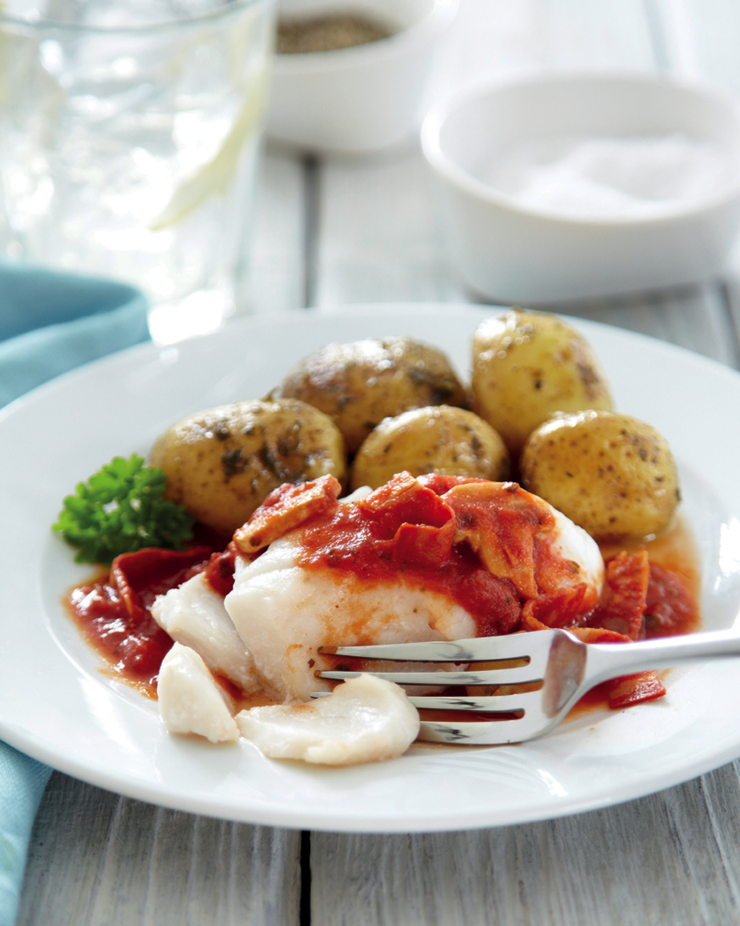 Cod With Chorizo Aldi Uk