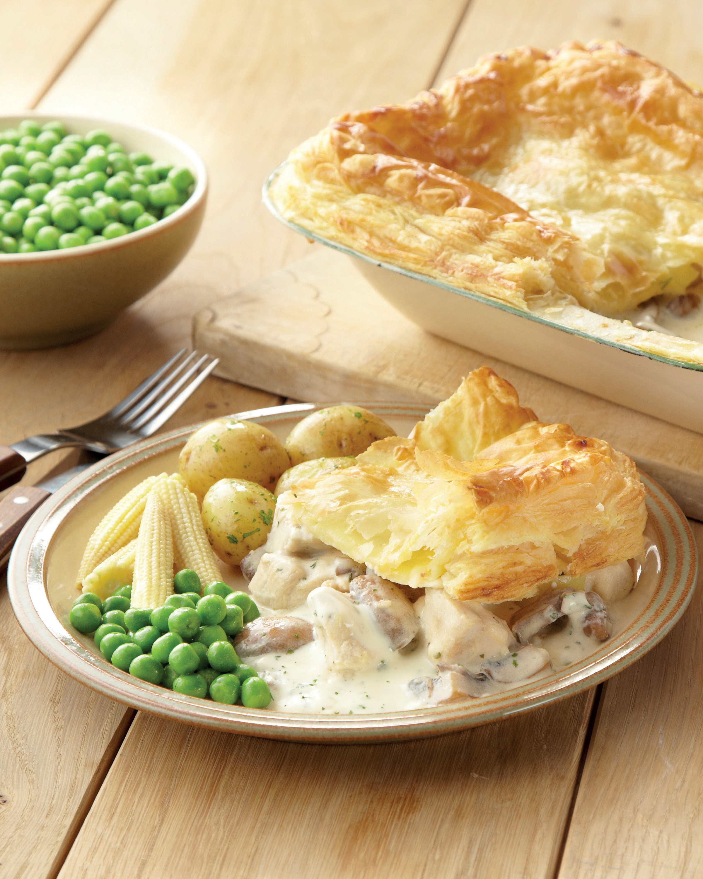 Chicken And Mushroom Pie Aldi Uk