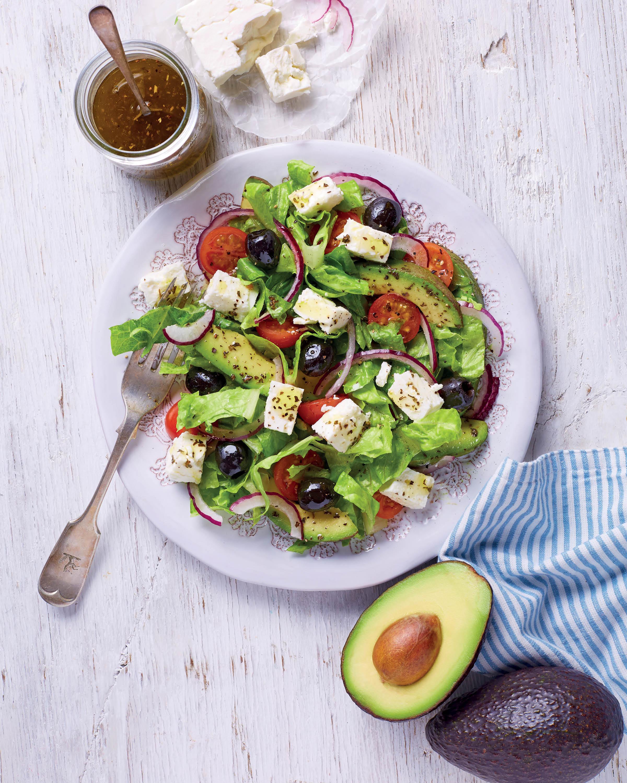 Greek Salad Recipe Avocado