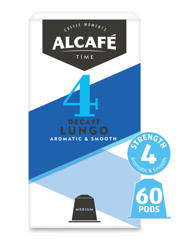 Decaf Lungo Coffee Pod Bundle 6 Pack