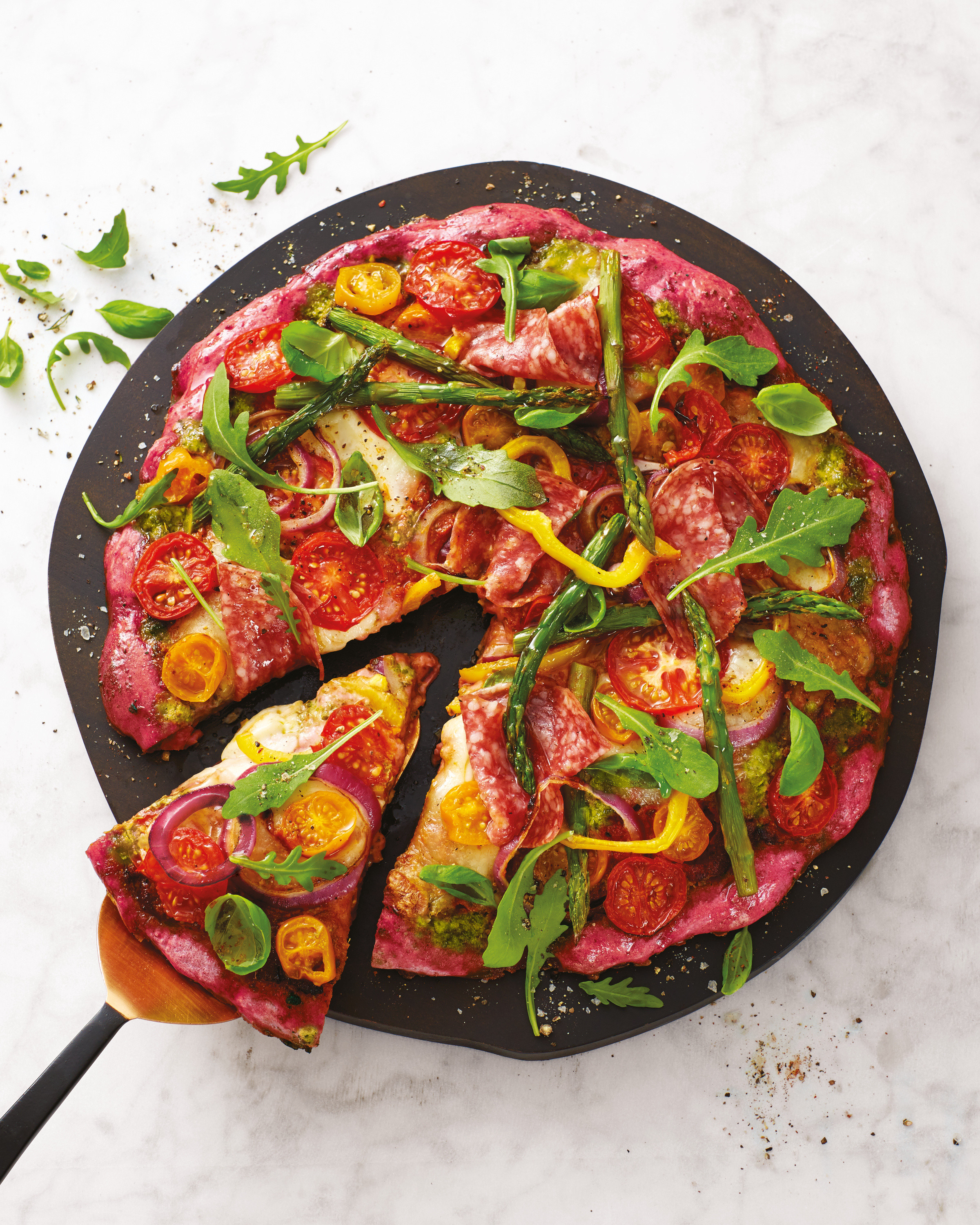 Beetroot Base Pizza Aldi Uk