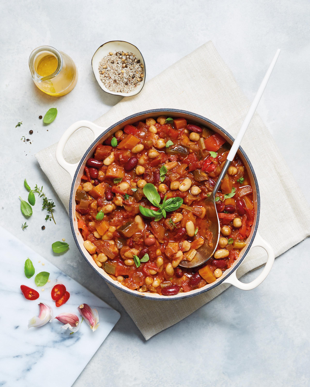 b1a5307c8 Slow Cooker Vegan Bean & Vegetable Chilli - ALDI UK