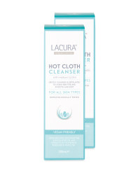 Hot Cloth Cleanser 2 Pack