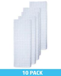 Green Cotton Terry Tea Towel 10 Pack