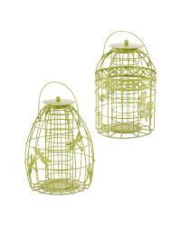 Green Bird Feeder Bundle