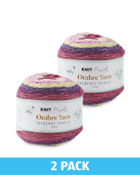 So Crafty Tayberry Ombre Yarn 2 Pack