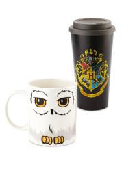 Harry Potter Travel Mug & Hedwig Mug