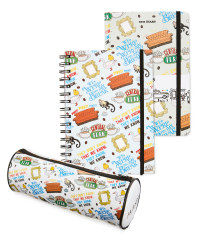Friends Infographic Stationery Set