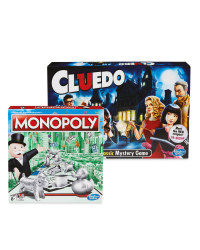 Cluedo And Monopoly Game Set