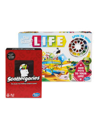 Scattergories & The Game Of Life Set