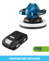 Cordless Polisher & 20V Battery