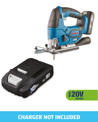 Cordless Jigsaw & 20V Battery
