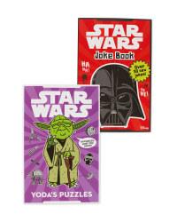 Star Wars Joke & Yoda Puzzle Books