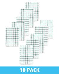 Emerald Terry Tea Towel 10 Pack