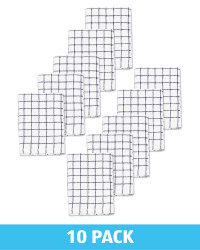 Navy Terry Tea Towel 10 Pack