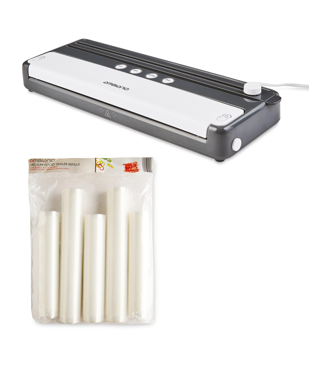 Vacuum Food Sealer & Refill Set
