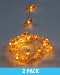Copper Gingerbread Wire Light 2 Pack