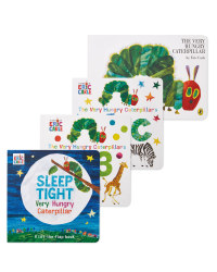Hungry Caterpillar 4 Book Collection
