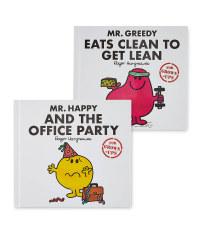 Mr Greedy & Mr Happy Adult's Books