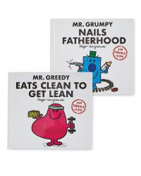 Mr Grumpy & Mr Greedy Adult's Books