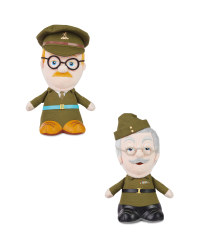 Talking Dad's Army Soft Toys