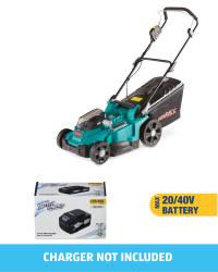 Ferrex Lawnmower With 20/40V Battery