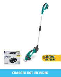 Grass Trimmer With 20/40V Battery