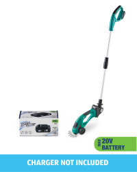 Grass/Hedge Trimmer With 20V Battery
