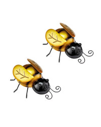 Bee Garden Wall Art 2 Pack