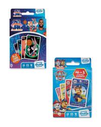 Space Jam & Paw Patrol Card Games