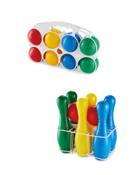 Primary Skittles and Boules Set