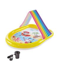 Rainbow Spray Pool & Air Pump 240V