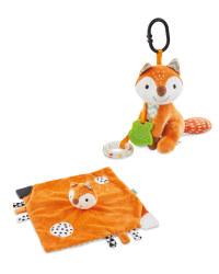 Mamia Fox Comforter & Pram Toy