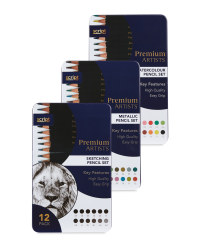 Colour & Sketching Pencils 36 Pack