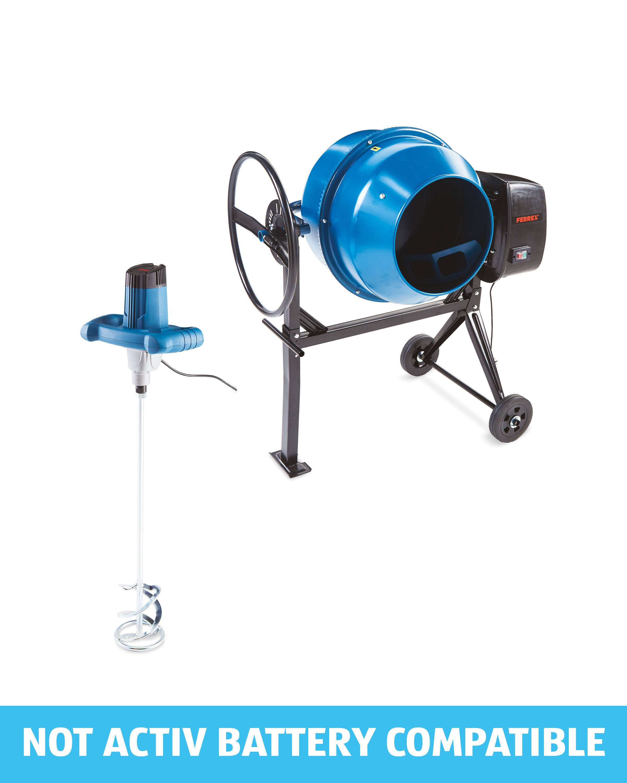 Ferrex Cement Mixer & Paddle Mixer