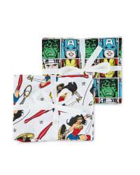 Comic Book Fabric Fat Quarters Set