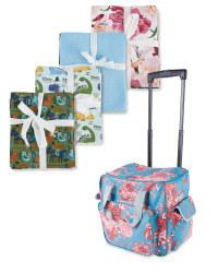 Fabric Fat Quarters & Craft Trolley
