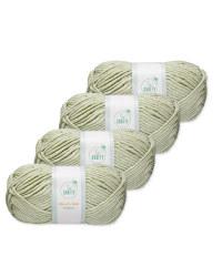 Pistachio Chunky Yarn 4 Pack