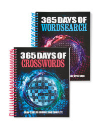 365 Days Of Puzzles Book Set