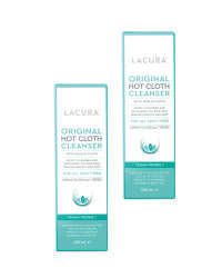 Lacura Hot Cloth Cleanser 2 Pack