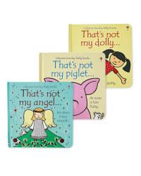 Doll, Angel & Piglet Not My Book Set