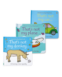 Car, Donkey & Plane Not My Book Set