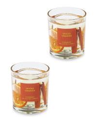 Spiced Orange Gel Candle 2 Pack
