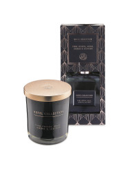 Black Candle And Reed Diffuser Set
