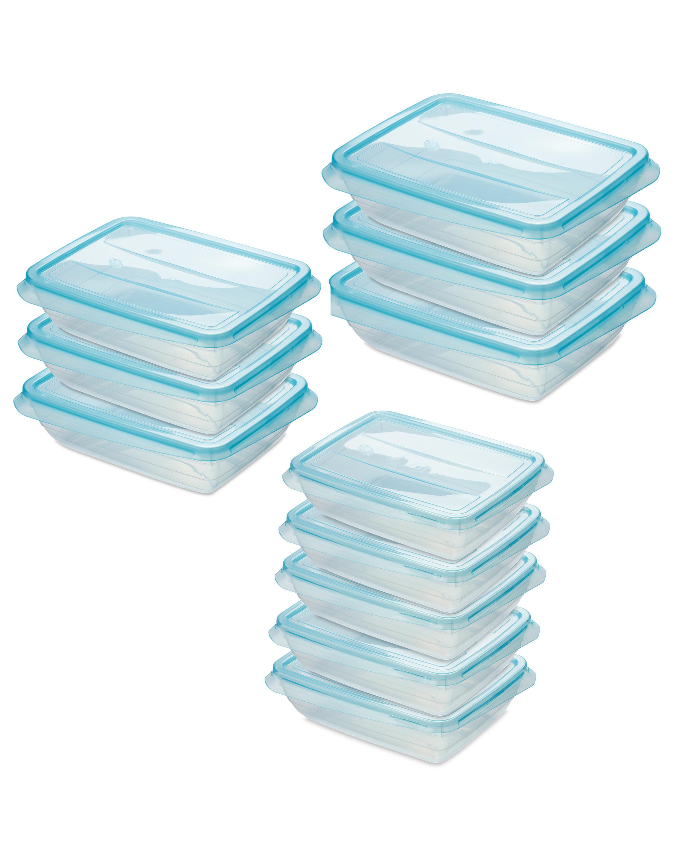 Teal Fresh & Freeze Boxes Set
