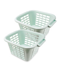 Addis Mist Laundry Basket 2 Pack